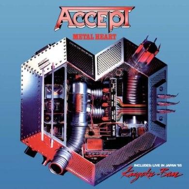 Accept METAL HEART / KAIZOKU-BAN: LIVE IN JAPAN CD