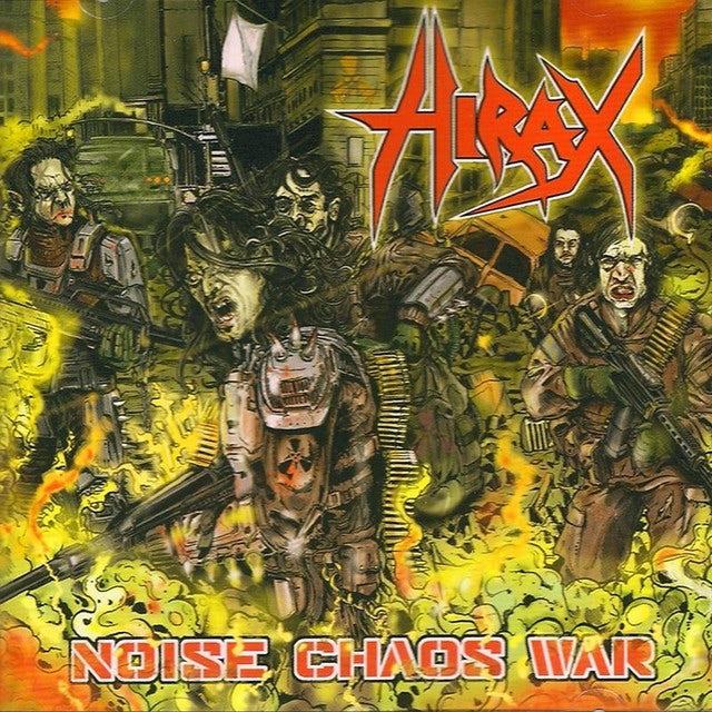 Hirax NOISE CHAOS WAR Vinyl Record