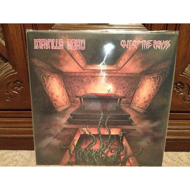 Manilla Road OUT OF THE ABYSS Vinyl Record