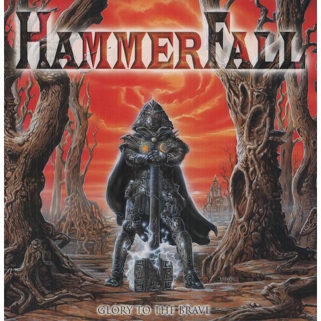 HammerFall GLORY TO THE BRAVE Vinyl Record
