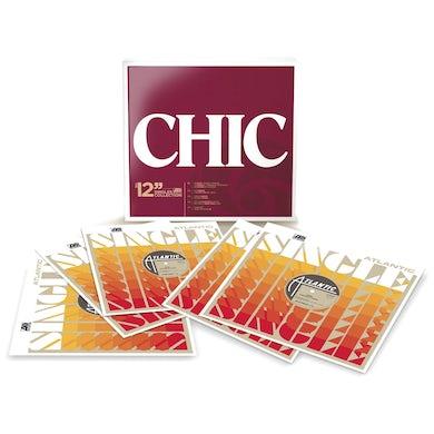 Chic 12 SINGLES COLLECTION Vinyl Record Box Set
