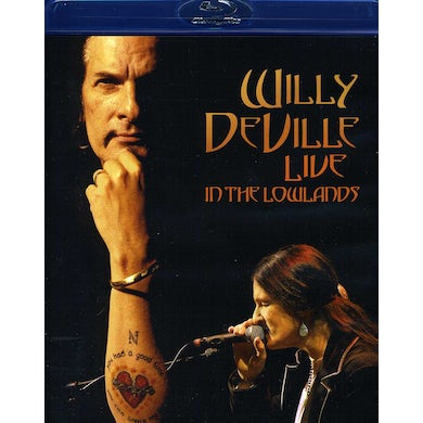 Willy Deville LIVE IN THE LOWLANDS Blu-ray
