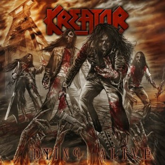 Kreator DYING ALIVE CD