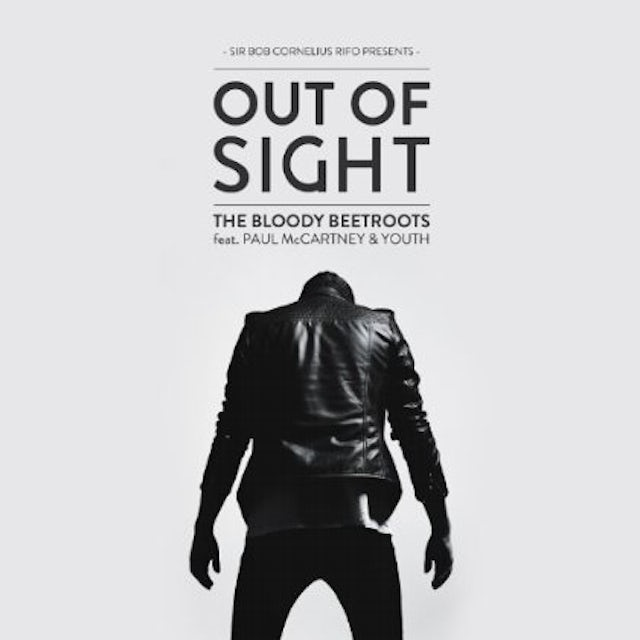 Paul Bloody Beetroots Feature Mccartney & Youth OUT OF SIGHT Vinyl Record - Limited Edition