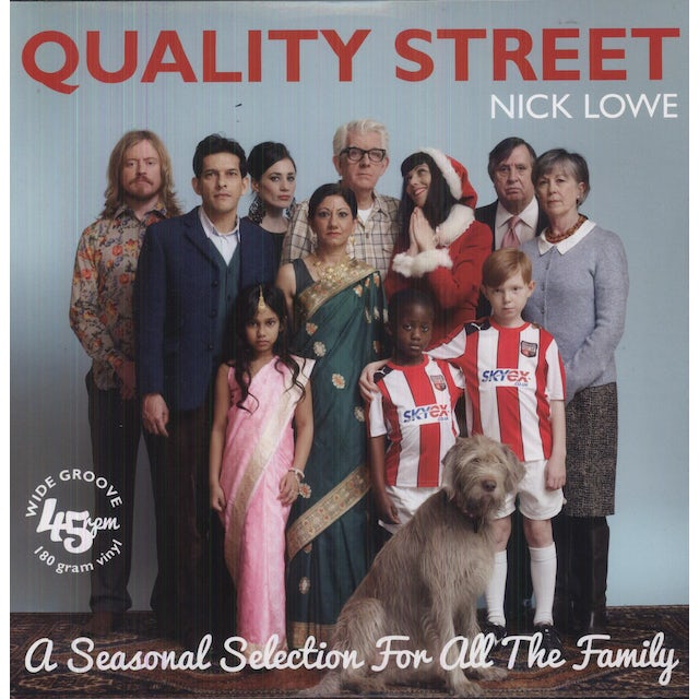Nick Lowe QUALITY STREET: A SEASONAL SELECTION FOR THE WHOLE Vinyl Record