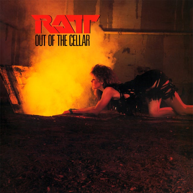 Ratt OUT OF THE CELLAR Vinyl Record - Limited Edition, 180 Gram Pressing