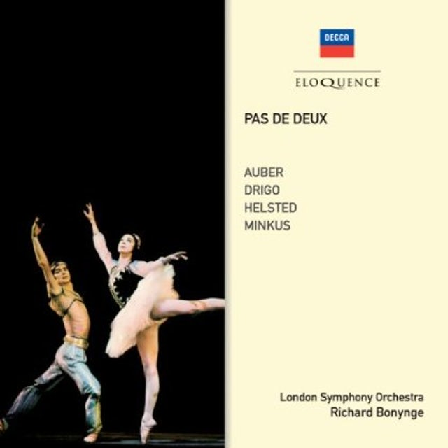 Richard Bonynge PAS DE DEUX CD