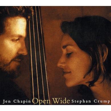 Jen Chapin OPEN WIDE CD