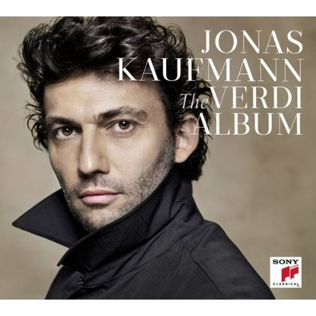Jonas Kaufmann VERDI ALBUM CD