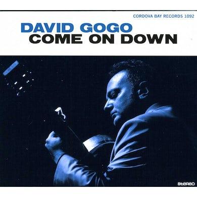 David Gogo COME ON DOWN CD