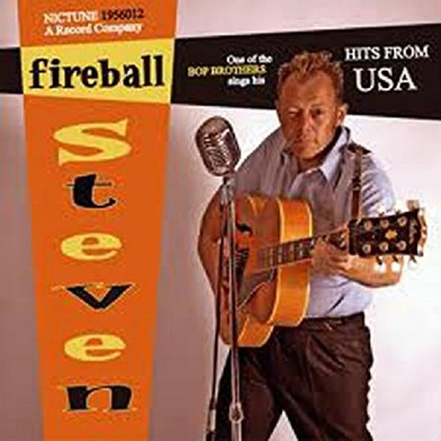 Fireball Steven SINGS HITS FROM THE USA Vinyl Record