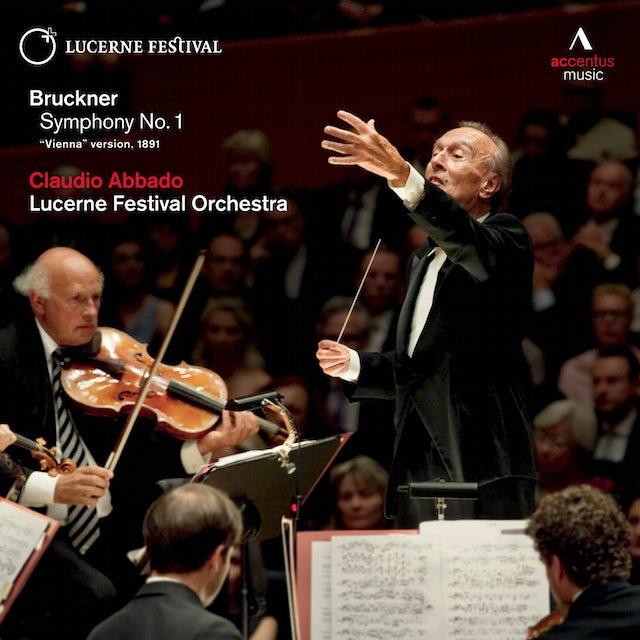 BRUCKNER / ABBADO / LUCERNE FESTIVAL ORCHESTRA SYMPHONY NO 1 CD