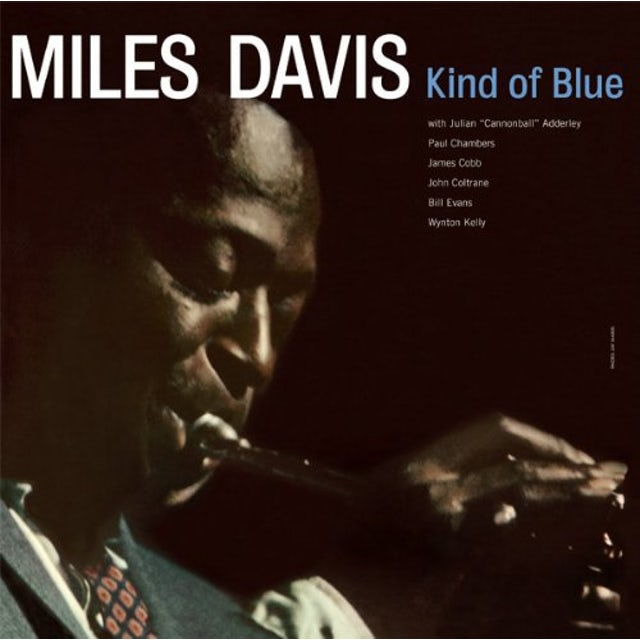 Miles Davis KIND OF BLUE Vinyl Record - Limited Edition