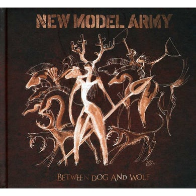 New Model Army BETWEEN DOG & WOLF CD