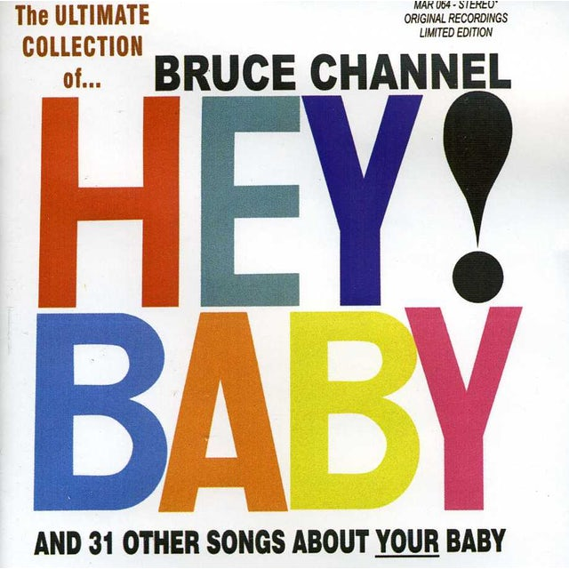 Bruce Channel ULTIMATE COLLECTION 32 CUTS CD
