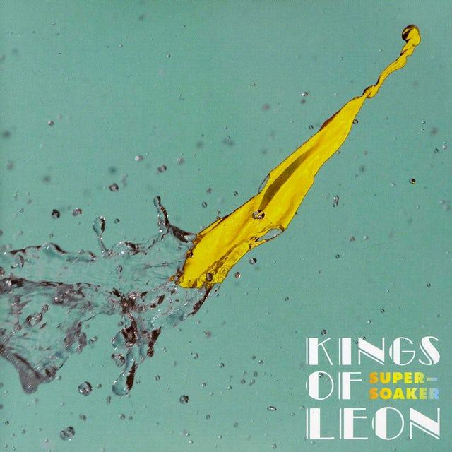 Kings Of Leon SUPERSOAKER / WORK ON ME Vinyl Record