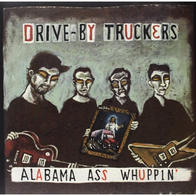 Drive-By Truckers ALABAMA ASS WHUPPIN Vinyl Record
