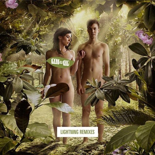 Matt & Kim LIGHTNING REMIXES Vinyl Record - Limited Edition, Uncensored