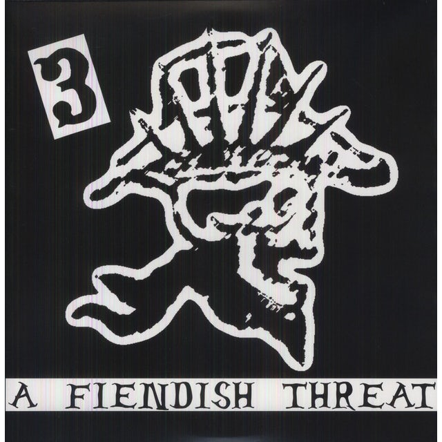 Hank 3 FIENDISH THREAT Vinyl Record