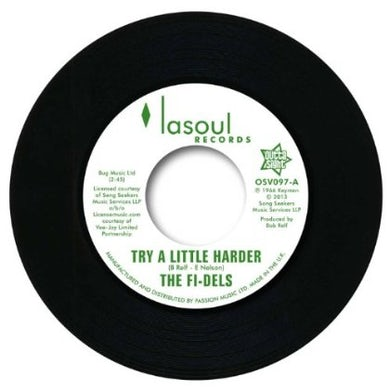 Fi-Dels TRY A LITTLE HARDER Vinyl Record