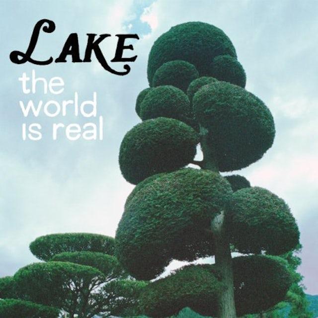 Lake WORLD IS REAL Vinyl Record