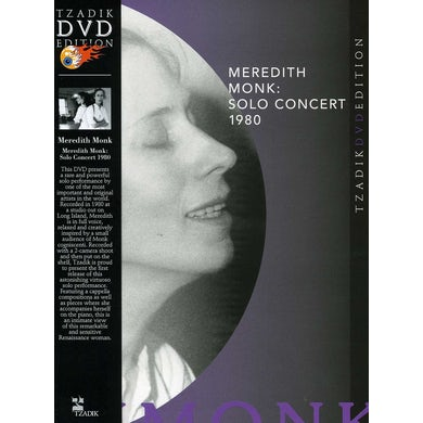 Meredith Monk SOLO CONCERT 1980 DVD