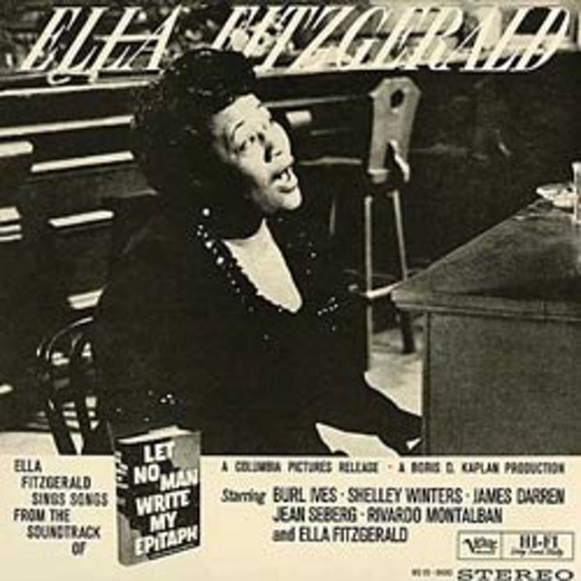 Ella Fitzgerald LET NO MAN WRITE Vinyl Record - 180 Gram Pressing