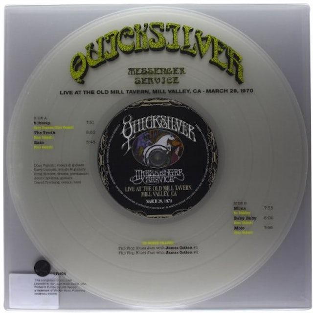 Quicksilver Messenger Service LIVE AT THE OLD MILL TAVERN (BONUS CD) Vinyl Record