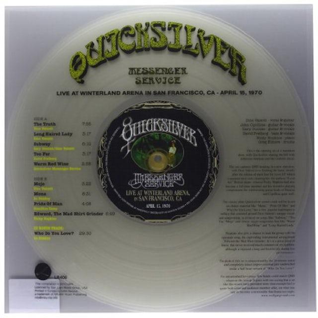 Quicksilver Messenger Service LIVE AT WINTERLAND ARENA Vinyl Record