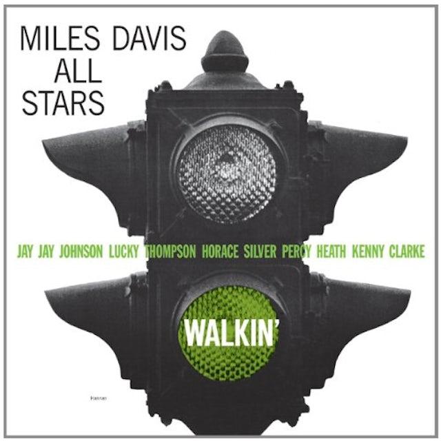 Miles Davis All Stars WALKIN Vinyl Record