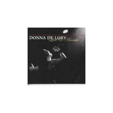 Donna De Lory LIVE & ACOUSTIC CD
