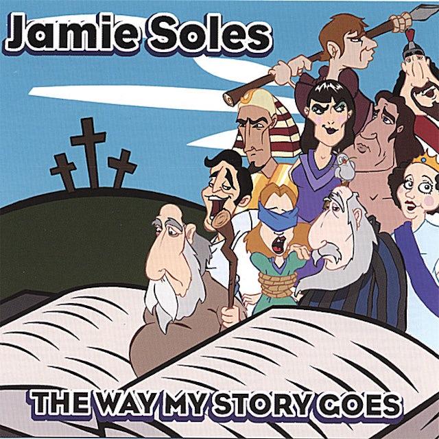 Jamie Soles WAY MY STORY GOES CD