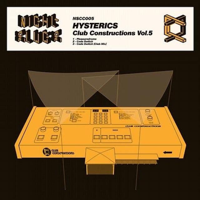 Hysterics CLUB CONSTRUCTIONS 5 Vinyl Record