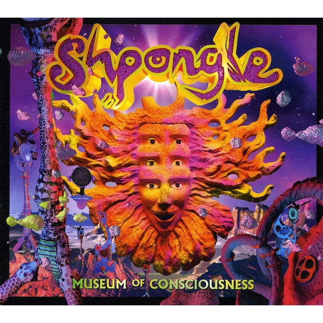 Shpongle MUSEUMS OF CONSCIOUSNESS CD