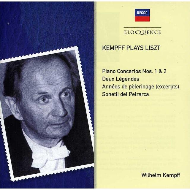 Wilhelm Kempff KAMPFF PLAYS LISZT CD
