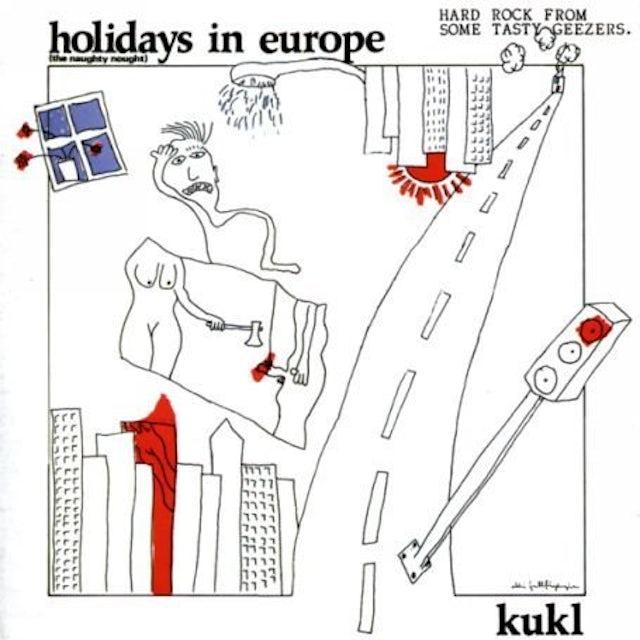 Kukl HOLIDAYS IN EUROPE Vinyl Record
