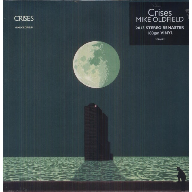 Mike Oldfield CRISES Vinyl Record