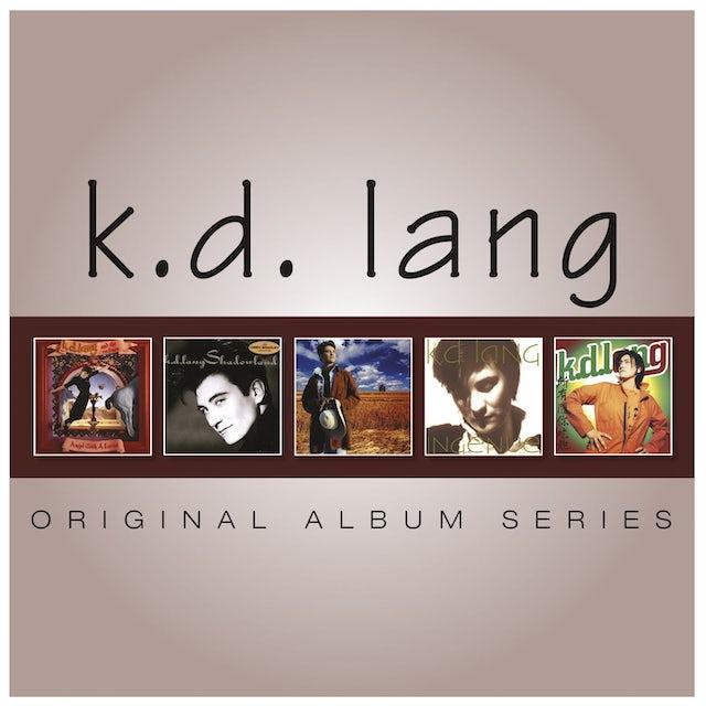 K.D. Lang ORIGINAL ALBUM SERIES CD