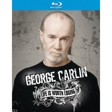 George Carlin LIFE IS WORTH LOSING Blu-ray