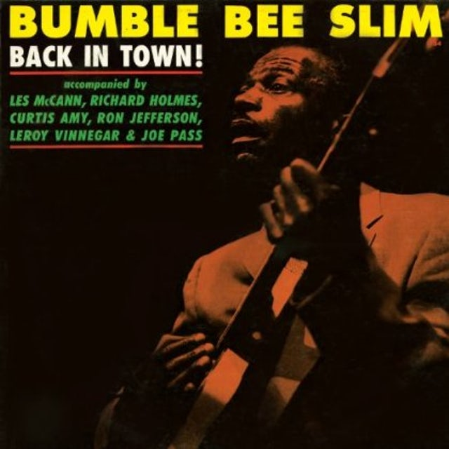 Bumble Bee Slim BACK IN TOWN Vinyl Record