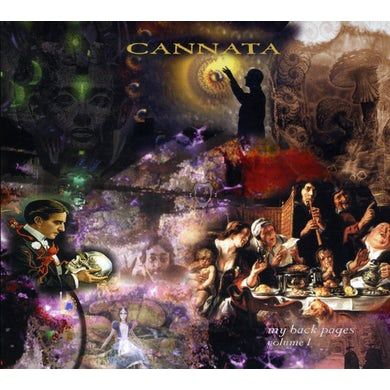 CANNATA MY BACK PAGES CD