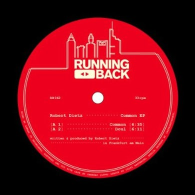 Robert Dietz COMMON Vinyl Record