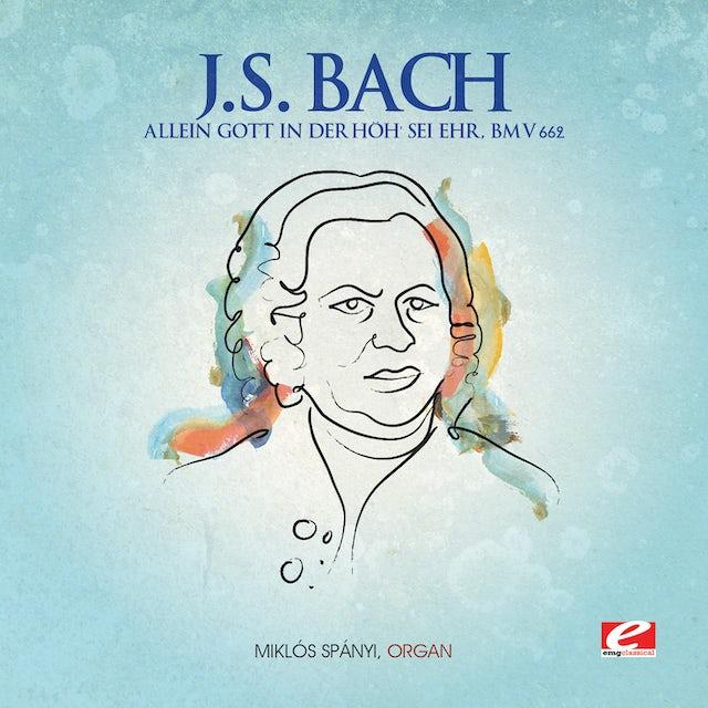 J.S. Bach ALLEIN GOTT IN DER HOH SEI HER CD