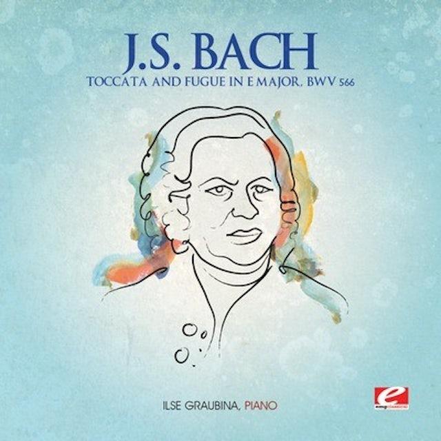 J.S. Bach TOCCATA & FUGUE IN E MAJOR CD
