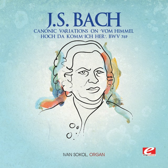 J.S. Bach CANONIC VARIATIONS CD