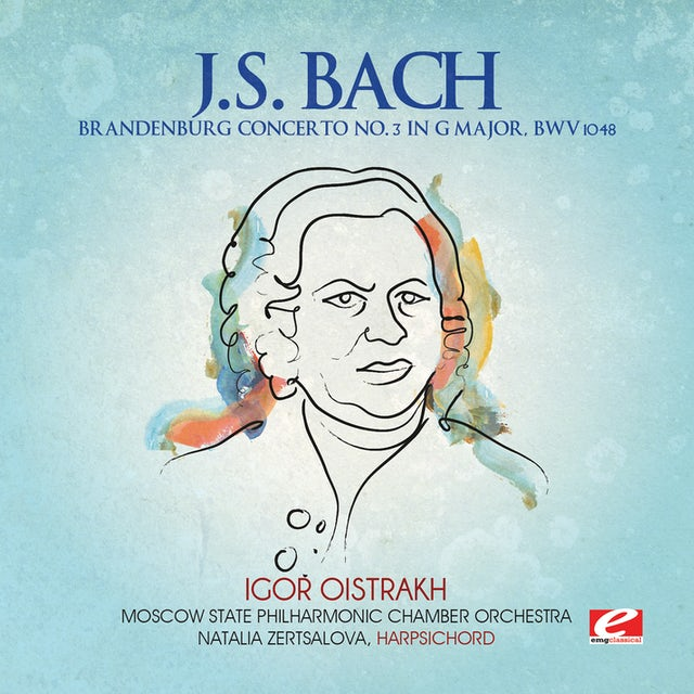 J.S. Bach BRANDENBURG CONCERTO NO. 3 IN G MAJOR CD