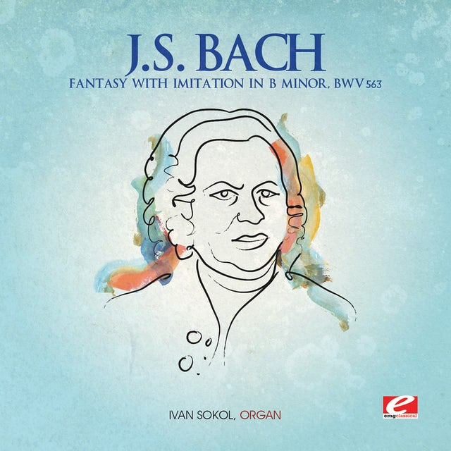 J.S. Bach FANTASY WITH IMITATION IN B MINOR CD
