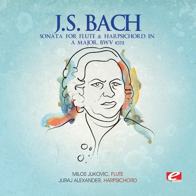 J.S. Bach SONATA FOR FLUTE & HARPSICHORD IN A MAJOR CD