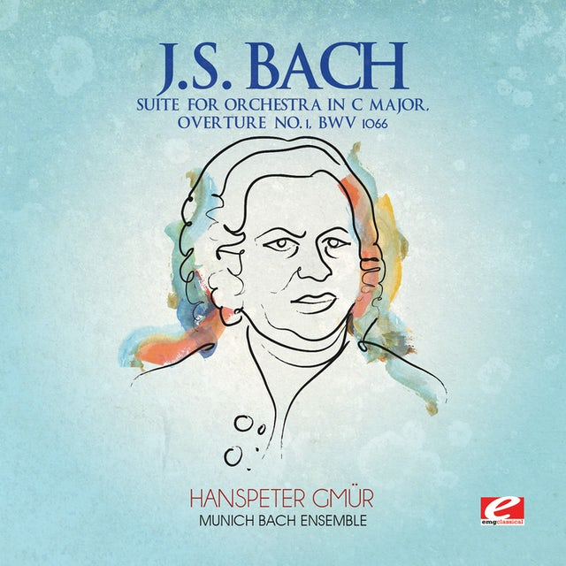 J.S. Bach SUITE FOR ORCHESTRA IN C MAJOR CD