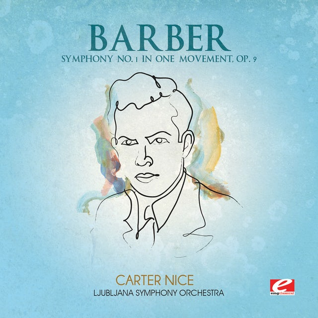 Barber SYMPHONY NO. 1 IN ONE MOVEMENT CD